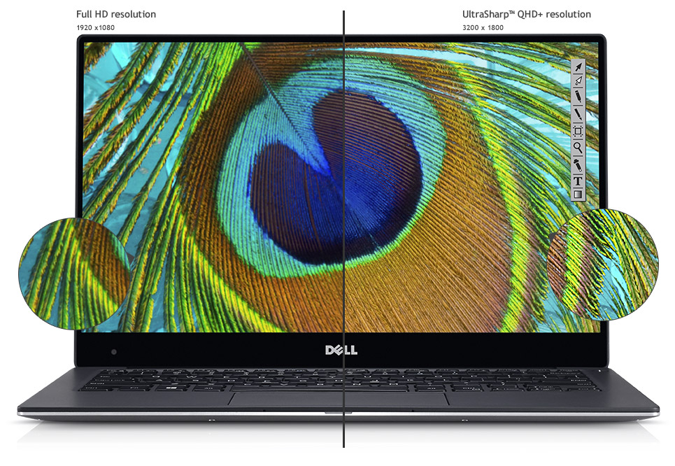 Dell xps 13 qhd+ vs fhd display